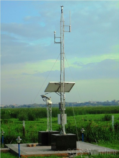 CWET Solar Radiation site overview