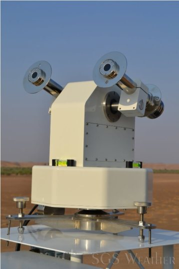 calibrating pyrheliometer using primary and secondary standard