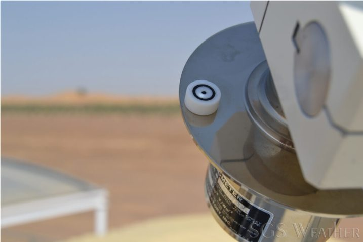 checking pyrheliometer sun pointing accuracy sgs weather